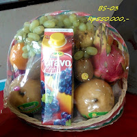 parcel buah harga Rp550.000,-