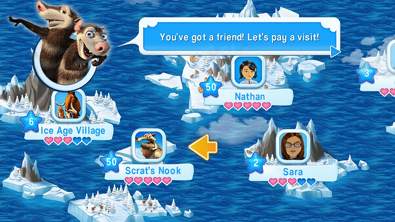 Ice Age Village Game