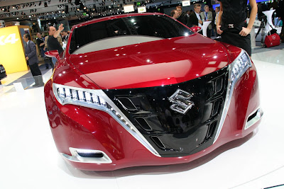 kizashi concept - high performance cars - suzuki