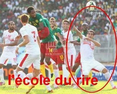 Semah Derbali  devait faire le geste fétiche d'Usain Bolt