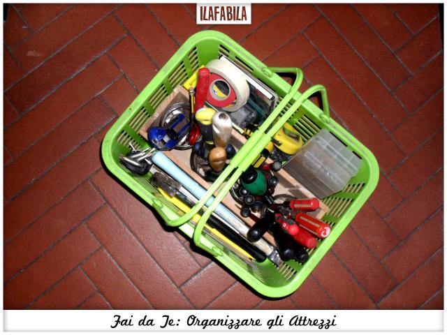 Fai da Te: organizzare gli Attrezzi con un cestino