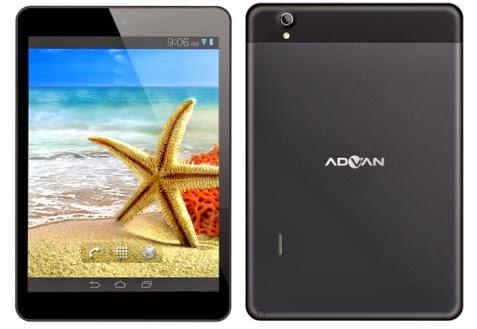 tablet android mereka dengan memperkenalkan Advan Vandroid T5C. Tablet