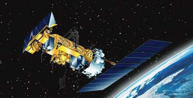 An illustration of the family of NOAA polar-orbiting weather satellites that includes NOAA 16. Credit: NOAA