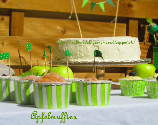 """Apfelmuffins vom """"Little Green Sweet Table"""""""