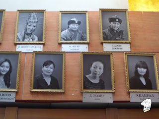 Portraits of the Tumen Ekh performance troop 4