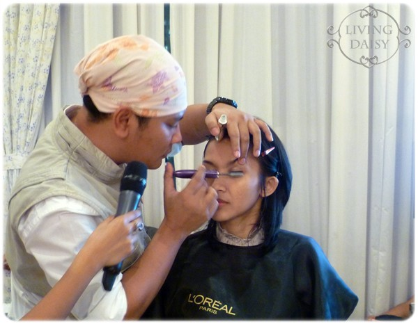 Living daisy l 39 oreal true match beauty workshop for Adi adrian salon
