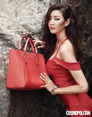 Kim Sarang Cosmopolitan Magazine June 2013 Sexy Girl