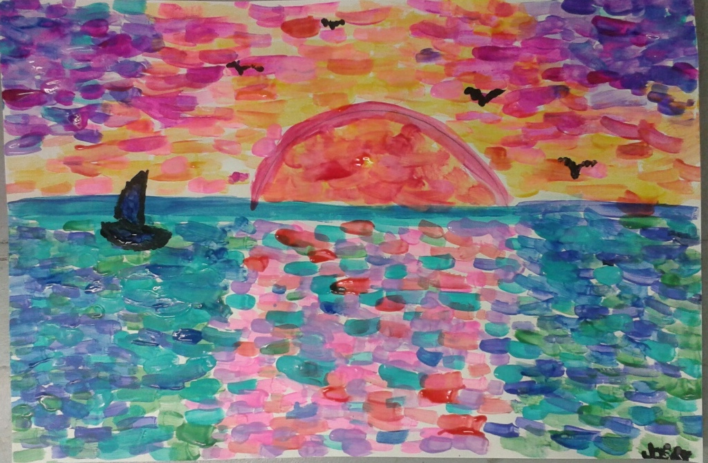 Image gallery monet art for kids Fun painting ideas for toddlers