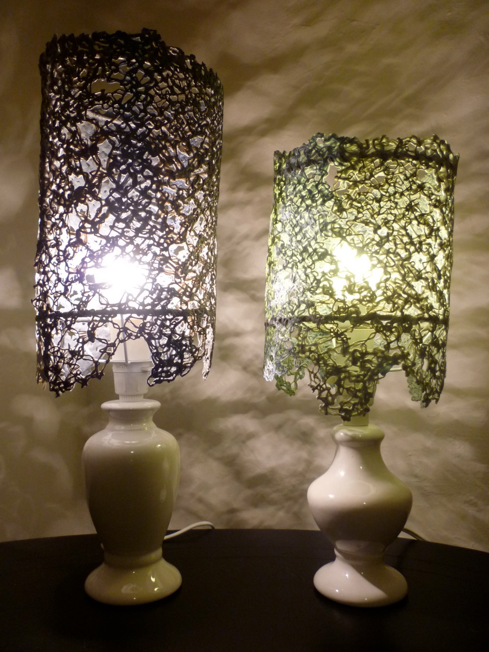 Kate ward recycled lace lampshades recycled lace lampshades aloadofball Images