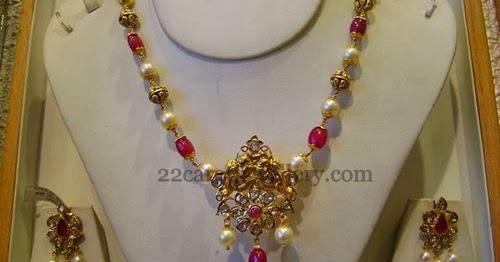 Jewelry From Srimahalakshmi Gems Jewellery Designs