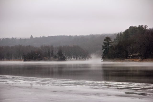 Franconia Winter, St. Croix River