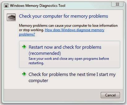 Windows-Memory-Diagnostics Tool