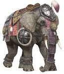 gajah untuk berperang