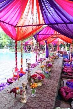 Pool Party Decor Sonal J Shah Event Consultants Llc