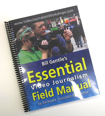 Book, Essential Video Journalism Field Manual by Bill Gentile