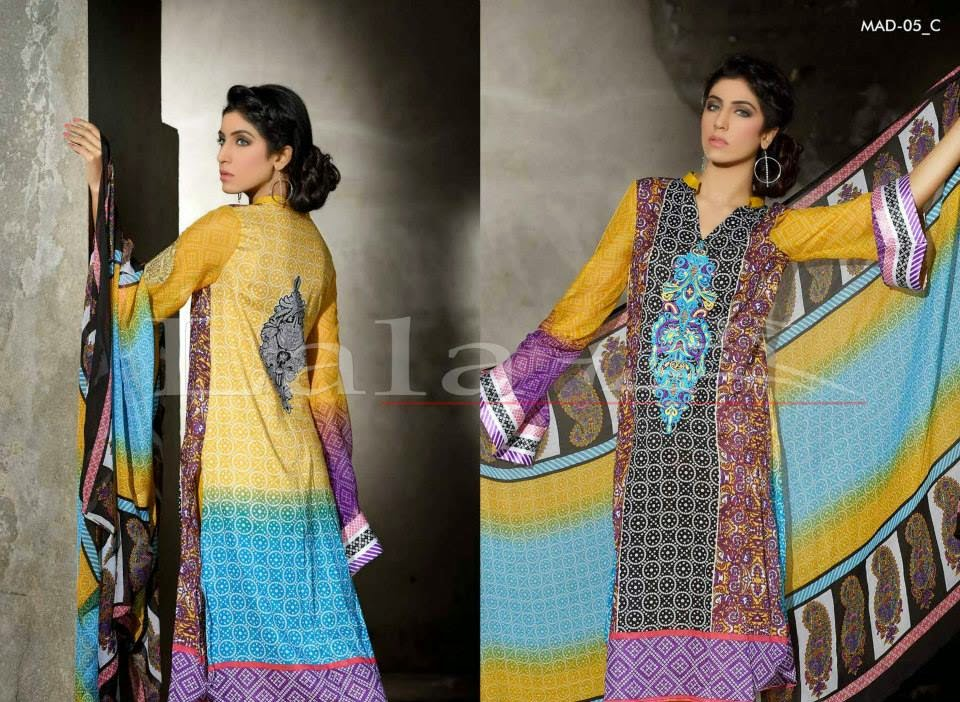 Latest Designer Embroidered 2015 Collection