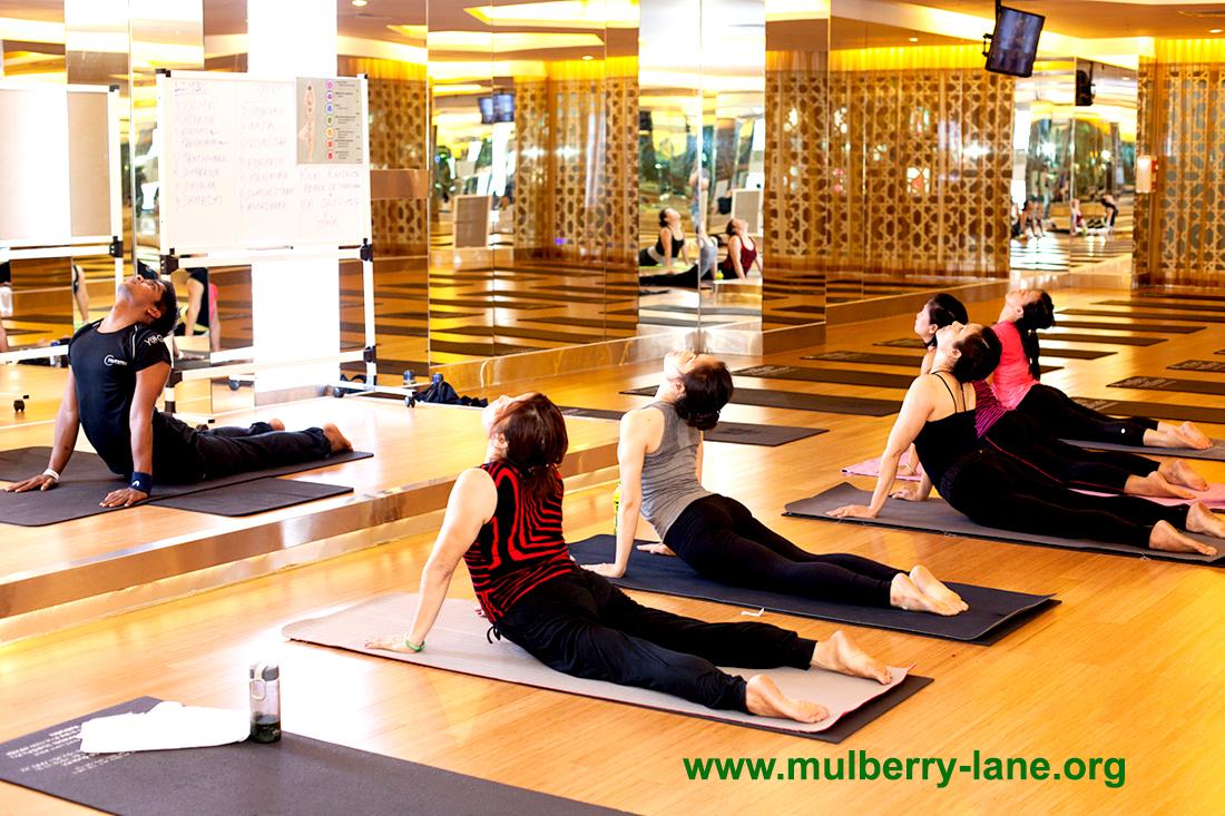 Phòng tập Yoga ở Mulberry Lane