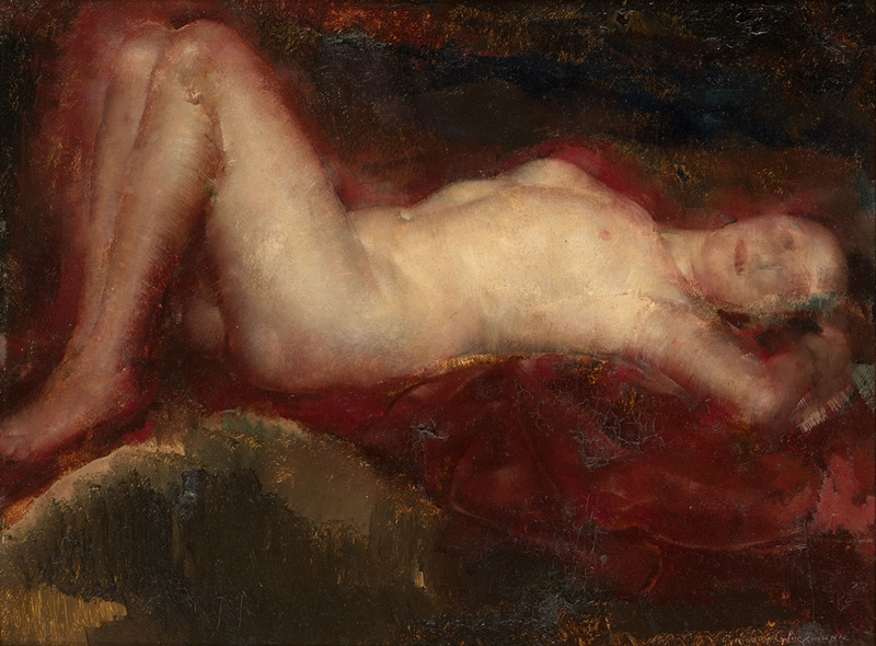 Grigory Gluckmann [Григорий Глюкман] 1898-1973 | Russian-born American painter