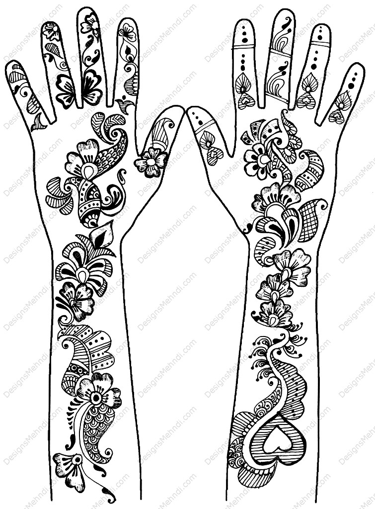 mehndi designs wallpapers for wall all images wallpapers