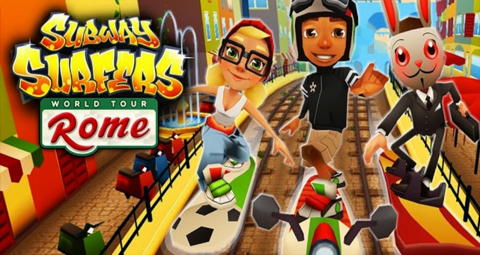 Subway Surfers PC Full Game Free Download 2019 for Windows ...