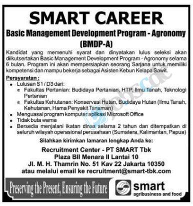 Contoh Job Vacancy Jakarta Post