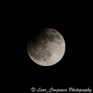 Eclipsa de Luna prin penumbra 25 aprilie 2013