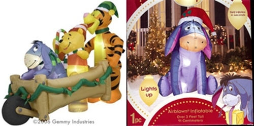 Disney Inflatable Christmas Decorations