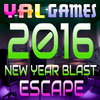 YalGames - Yal 2016 New Year Blast Escape