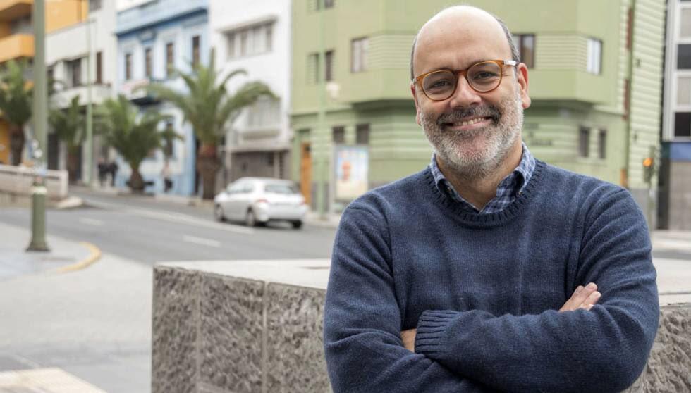 El exvicepresidente del Cabildo de Gran Canaria Juan Manuel Brito, en la lista de Nueva Canarias al