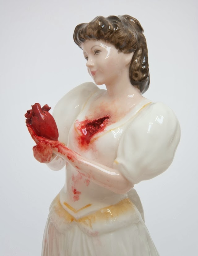 ceramic broken horror clay harrison jessica body soul bloody