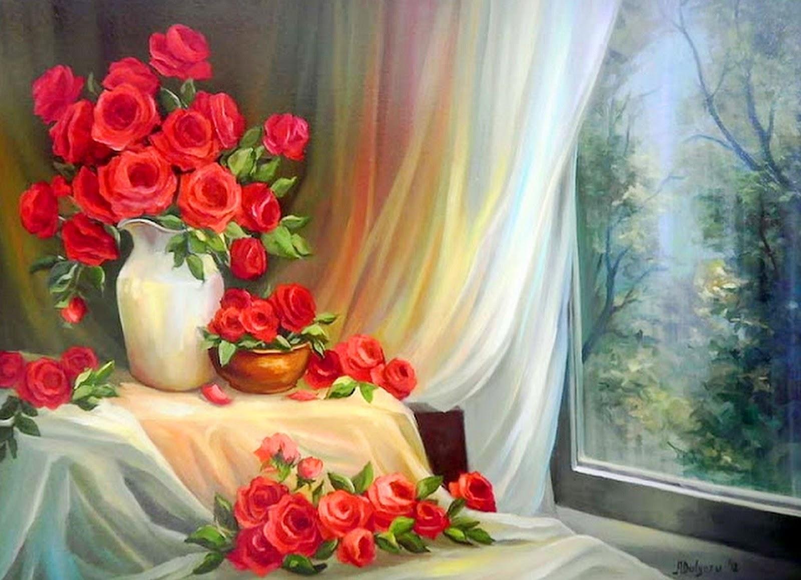 Im genes arte pinturas paisajes con flores pinturas - Ver colores de pintura ...