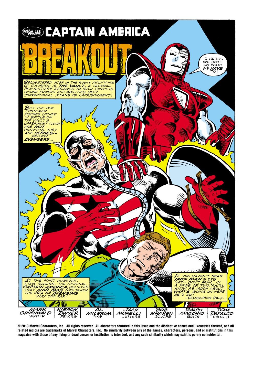 Captain America (1968) Issue #340 #270 - English 2