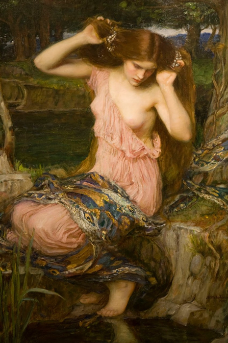 john williams waterhouse lamia