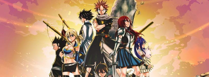 Couverture facebook fairy tail