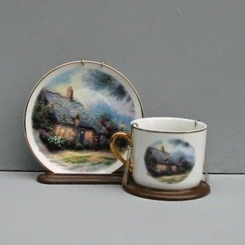 Thomas Kinkade Country Cottage Teacup