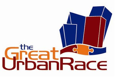the great urban race, chicago, logo