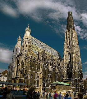 St. Stephens Cathedral (Stephansdom), Wien, Østrig