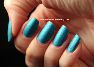 w7 aqua suede effects nail polish