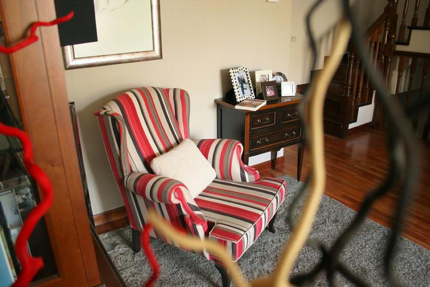 Diariodeco7: Rincón de lectura de nuestra casa