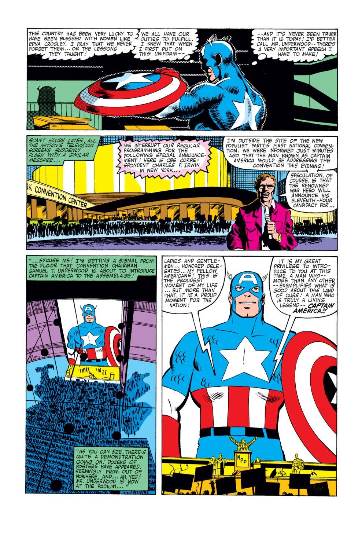 Captain America (1968) Issue #250 #165 - English 16