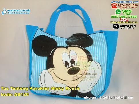 Tas Tenteng Karakter Micky Mouse