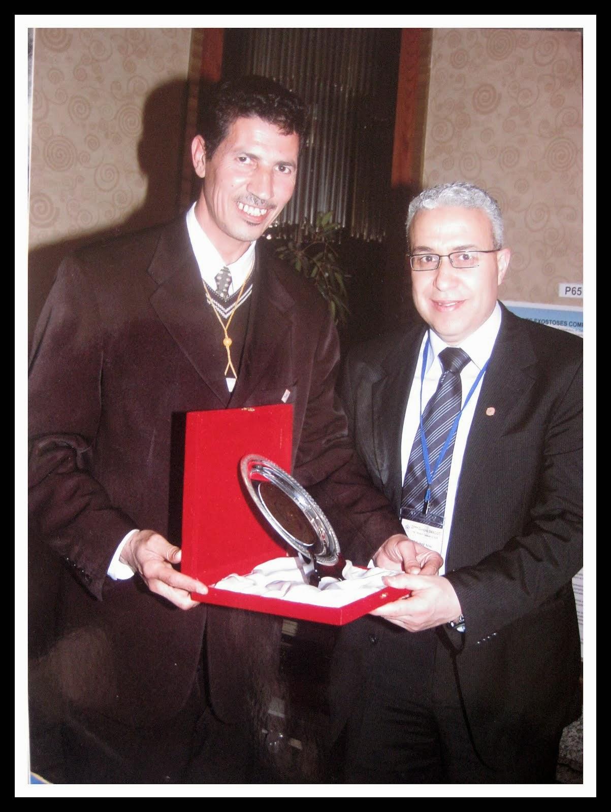 MR ELHATIMI MED  DE RABAT PRESIDENT D AMIBOTO ET PROFESSEUR ARSSI DE CASABLANCA