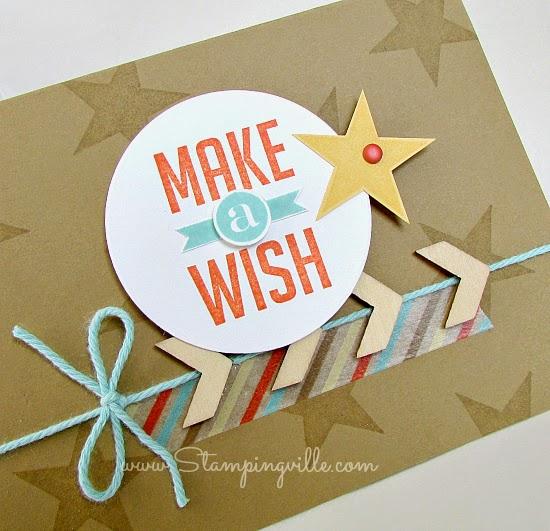 Make A Wish Birthday Card details photo