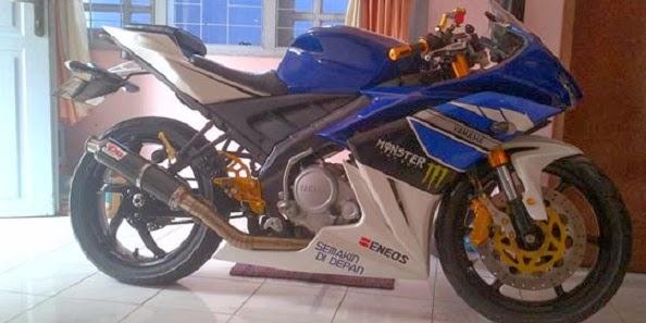 Modifikasi Yamaha Vixion Minimalis