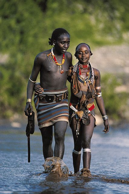 cryptopositivist - The Hamar are an Omotic community inhabiting southwestern Ethiopia. They live in Hamer woreda, a fertile part of the Omo River valley, in the Debub Omo Zone of the Southern Nations, Nationalities, and Peoples Region (SNNPR). They are largely pastoralists, so their culture places a high value on cattle