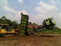 pembangunan pabrik, proyek pembangunan pabrik, tanah pegunungan, cut and fill land, cut & fill land
