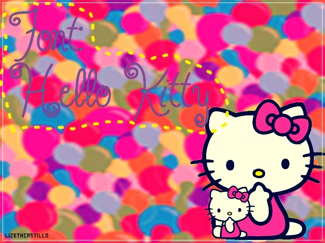 Font Hello Kitty Gratis