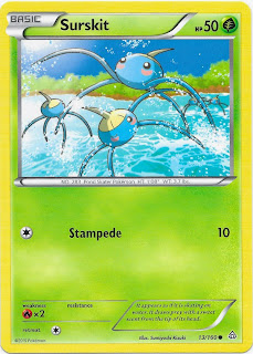 Surskit Primal Clash Pokemon Card