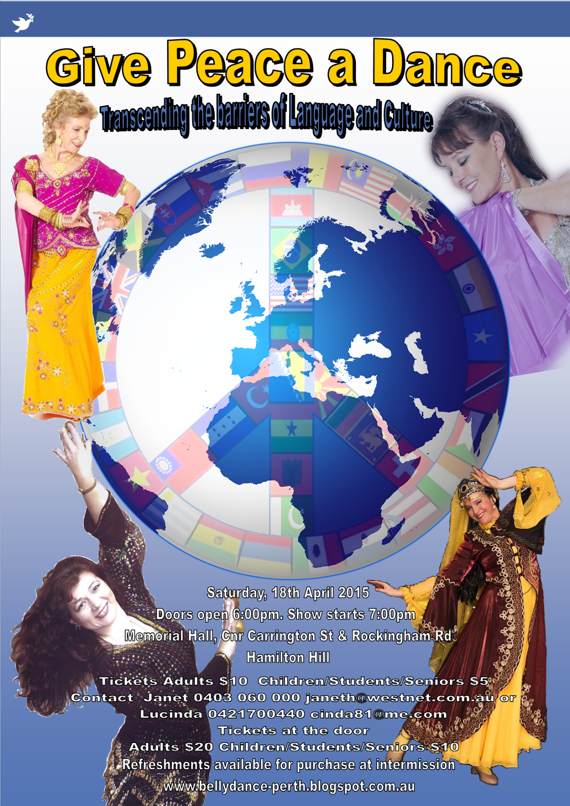 Multicultural Dance Concert 18th April