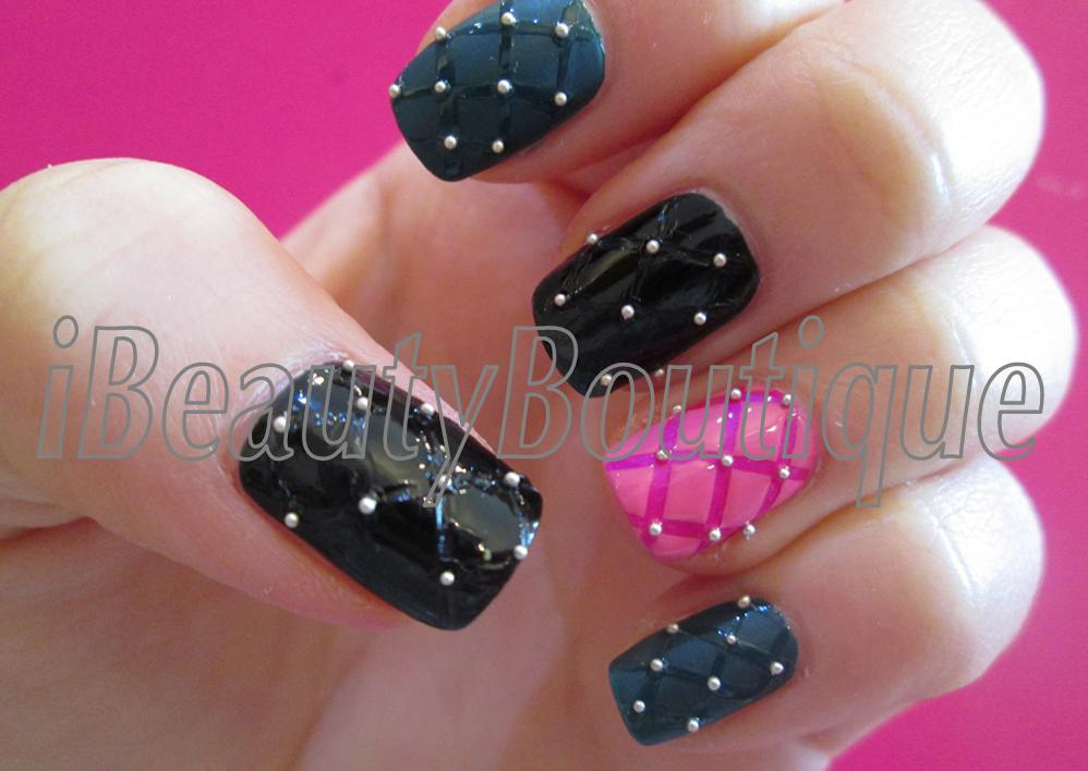 Ibeautyboutique Request Quilted Nail Art